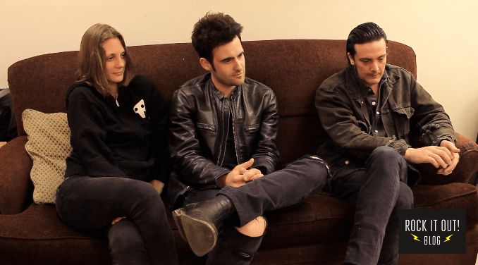 "Rock it Out! Blog: ""A Conversation With Black Rebel Motorcycle Club"" 1"