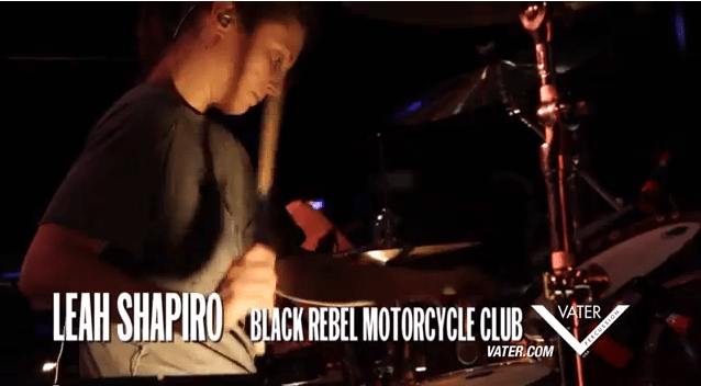Vater Percussion - Leah Shapiro - Black Rebel Motorcycle Club 1