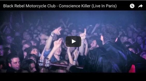 """Conscience Killer"" from BRMC's live DVD/CD ""Live In Paris"" 1"