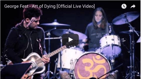 George Fest - Art of Dying [Official Live Video] 1